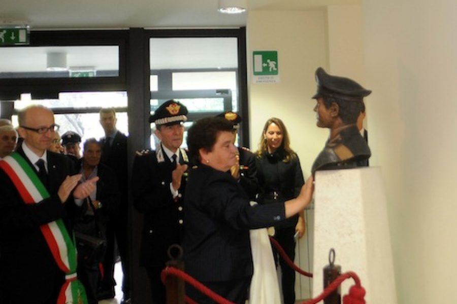 Inaugurazione del busto di Rosati